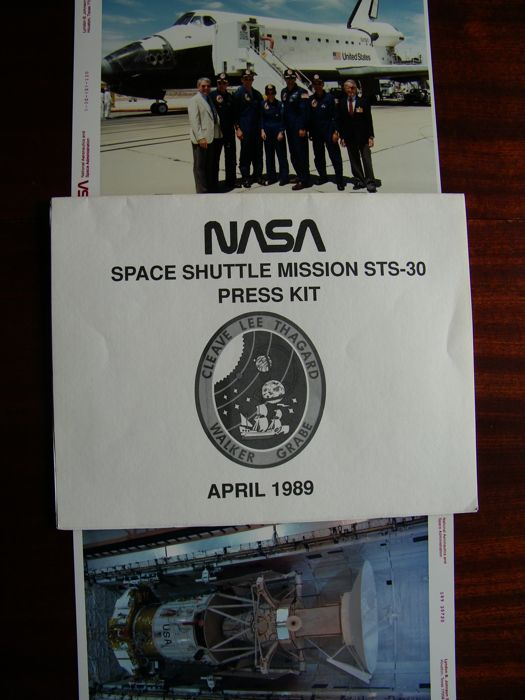 Missie STS-30: foto's en Press Kit (1989) - Kodak Photo Paper