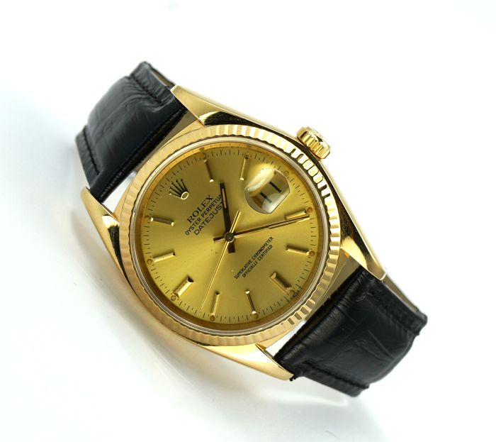 Rolex -  Oyster Perpetual DateJust  - 16018 - Hombre - 1990-1999