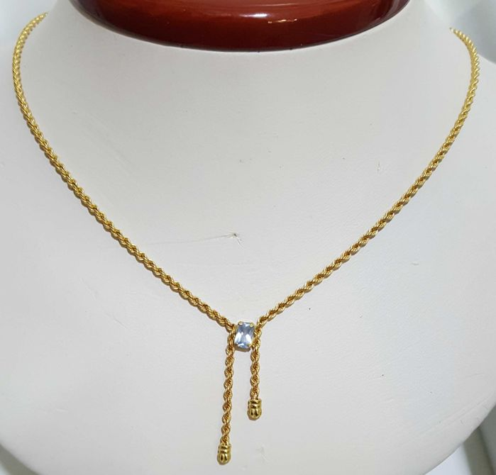 Collar - Oro - Topacio