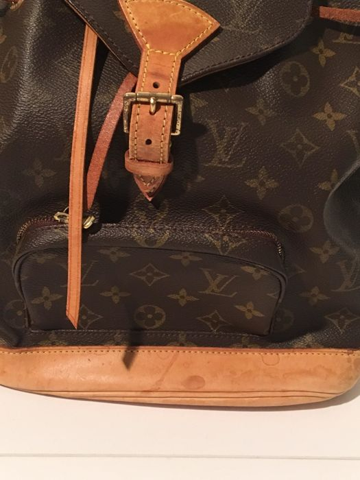 Louis Vuitton - Montsouris MM Sac à dos - Catawiki 321b76400dd