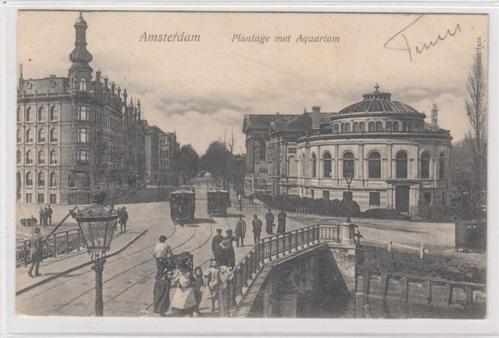 97x Amsterdam very old postcards - period: 1899-1940