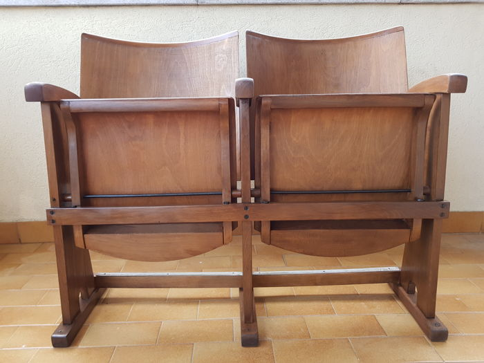 Sedie In Legno Da Cinema.Thonet Style Chair Pair Wood Walnut Catawiki