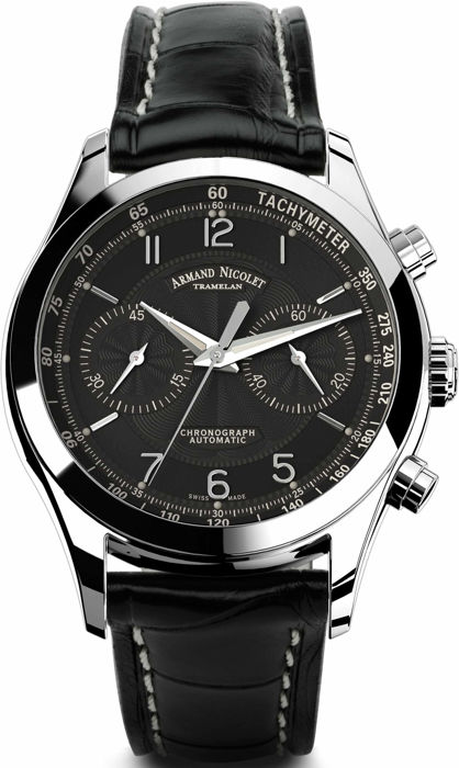 Armand Nicolet - M02 Chronograph - 9744A-NR-P974NR2 - Heren - 2011-heden