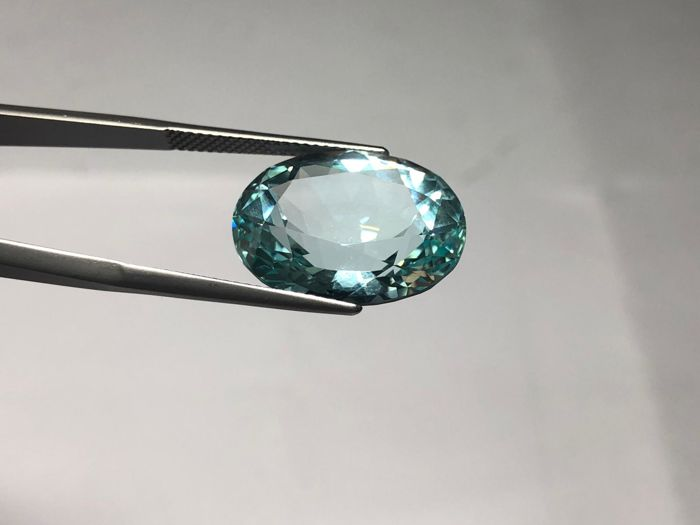 Tormalina Paraiba Greenish-Blue  - 18.50 carati