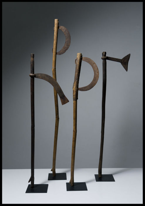 Dogon Ring Axe, Iron Hoe... / Mali