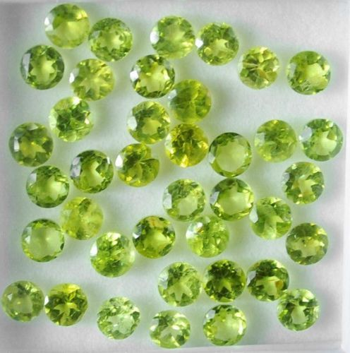 30 pcs  Peridot - 15.00 ct
