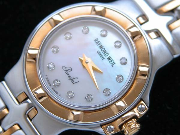 Raymond Weil Geneve - Mother of pearl dial  with 12 Diamonds - Dames - Luxury  Swiss watch