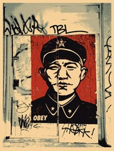 Shepard Fairey (OBEY) - Chinese San Francisco