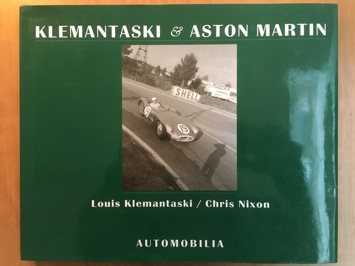 Libros - Klemantaski & Aston Martin by Chris Nixon - 1998 (1 objetos)