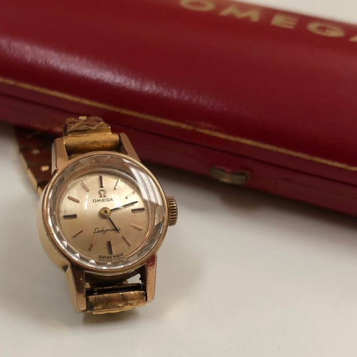 """Omega - Ladymatic - """"NO RESERVE PRICE"""" - ref. 551.004 - Mujer - 1960-1969"""