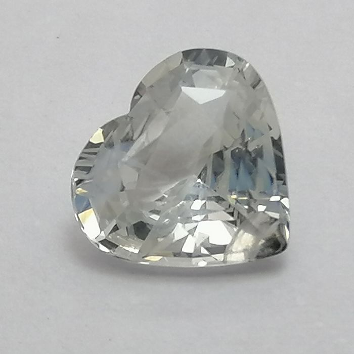 Wit Saffier - 1.08 ct