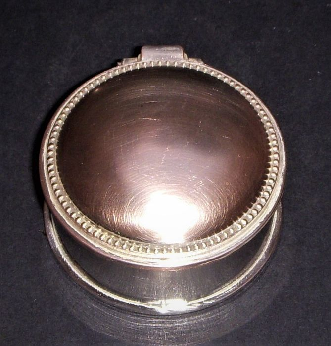 Antique jewellery box - Gilt, Silver plated - Europe - 1950
