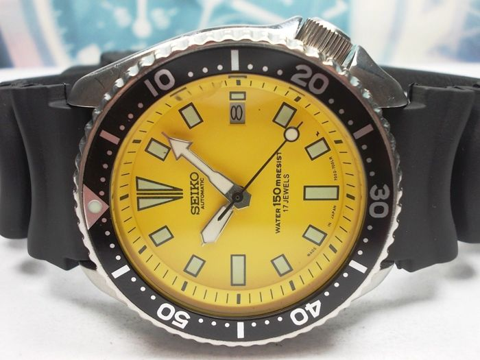 Seiko - Scuba Divers 150M - Jul.'92 Model no. 7002-7000 - Men - 1990-1999