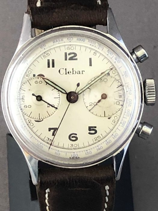 Clebar - Poor man Heuer Chronograph - Hombre - 1950-1959