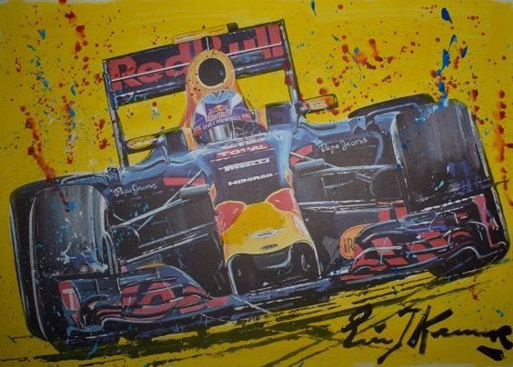 Eric Jan Kremer - 'Flying dutchman' Max Verstappen Formule 1