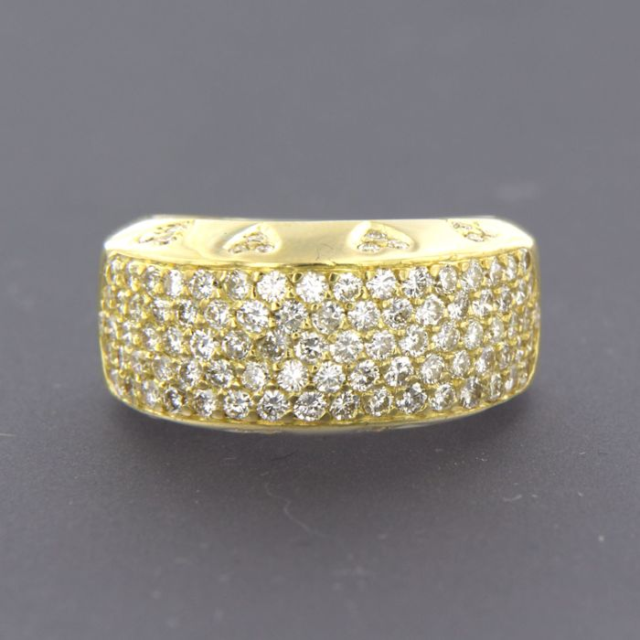 18 karaat Goud - Ring - 2.30 ct Diamant