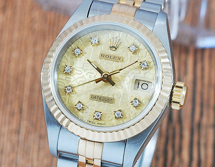 Rolex - Oyster Perpetual DateJust  - 69173G - Dames - 1990-1999