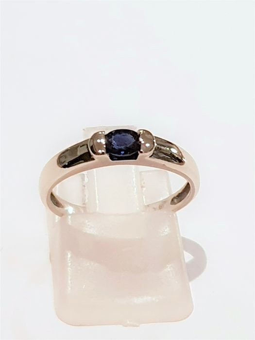 Ring - White gold - 0.2 ct - Sapphire