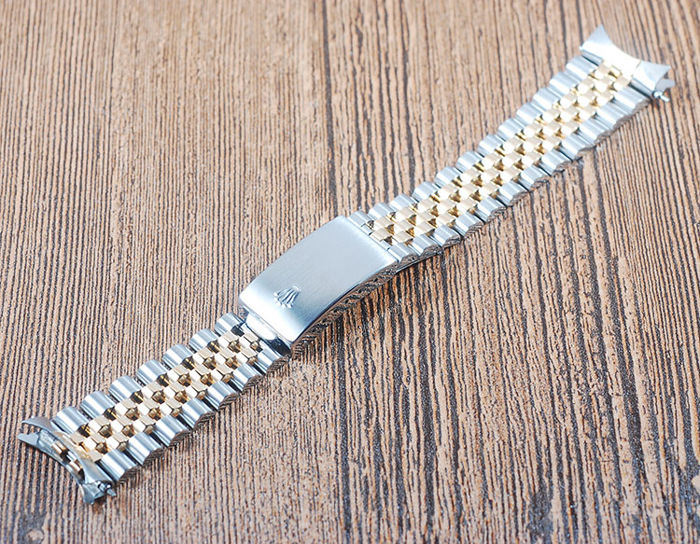 Rolex - 18K Gold & Stainless Steel Jubilee Bracelet - 62523H .18  - Men - 1980-1989