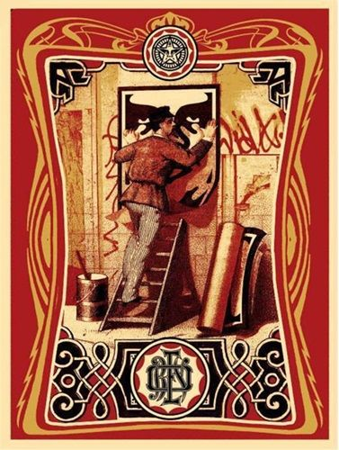Shepard Fairey (OBEY) - Vintage Paster