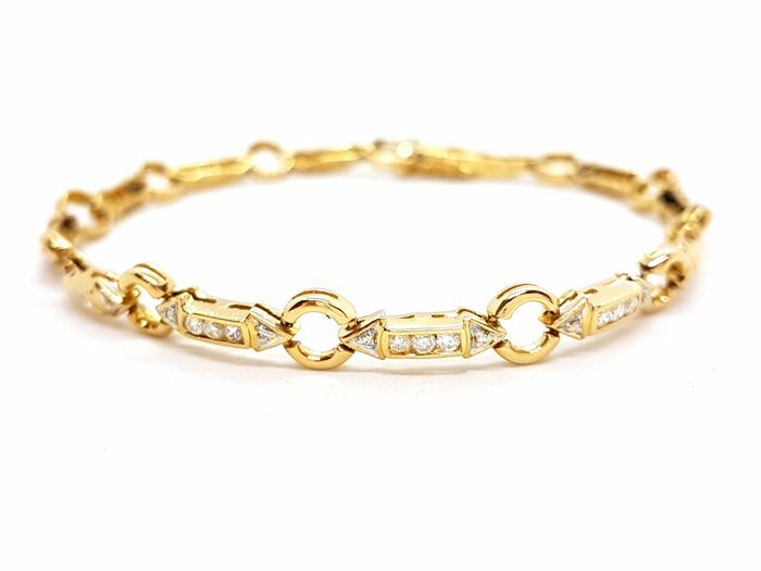 Bracelet - Gold - 0.51 ct - Diamond