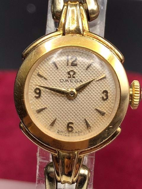 Omega - Honey Comb Dial - 12797907 - Mujer - 1901 - 1949