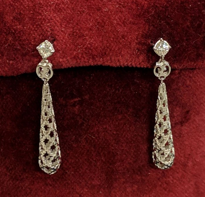Gucci - Pendientes - Oro - 0.18 ct - Diamante