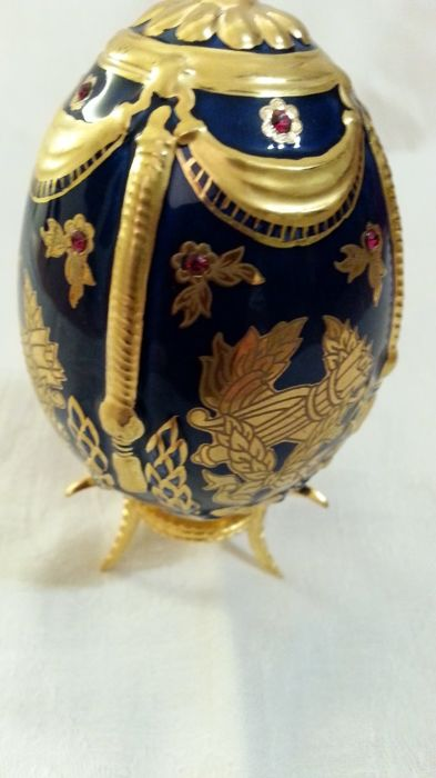 "House of Fabergé - - ""The Imperial jeweled Egg Collection"" -this is the - heritage of the czars Limited edition and signed"