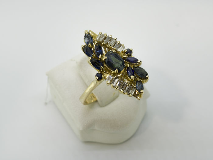 Ring - Gold - 0.48 ct - Diamond