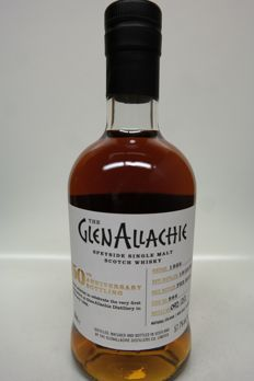 Glenallachie 1989 29 years old single cask - one of 212 bottles - 500ml