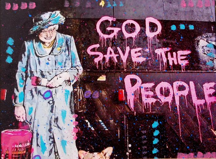 "Kino Mistral - ""Omaggio a Brainwash""  - GOD SAVE THE PEOPLE"