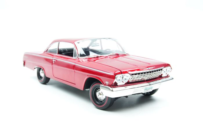 Special Edition Maisto 118 Chevrolet Bel Air 1962 Bordeaux Red