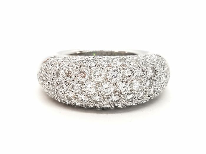 Ring - White gold - 1.33 ct - Diamond