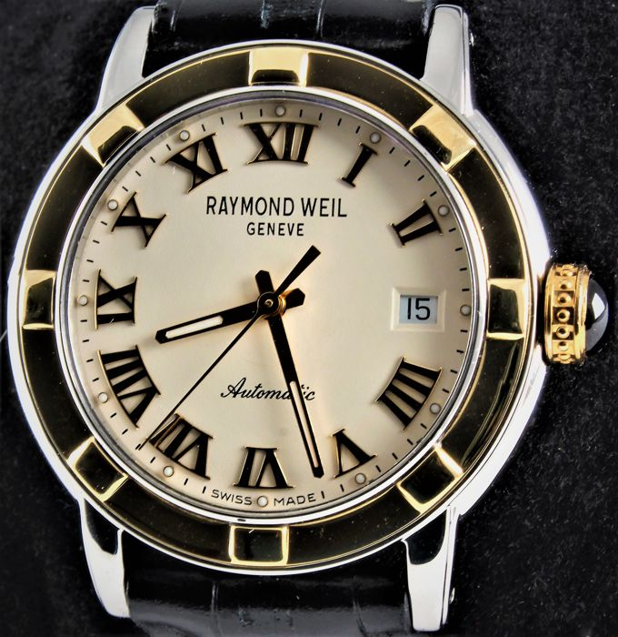 "Raymond Weil - ""PARSIFAL"" - Swiss Golden Automatic Chronometer  - Ref. No: RW 2840 - Excellent - Warranty - Uomo - 2011-presente"