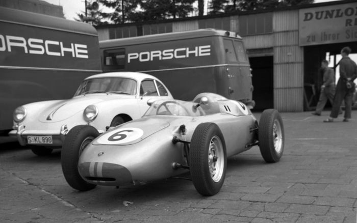 photographier - 1960  Porsche 356 transporters German GP - 2016-2016
