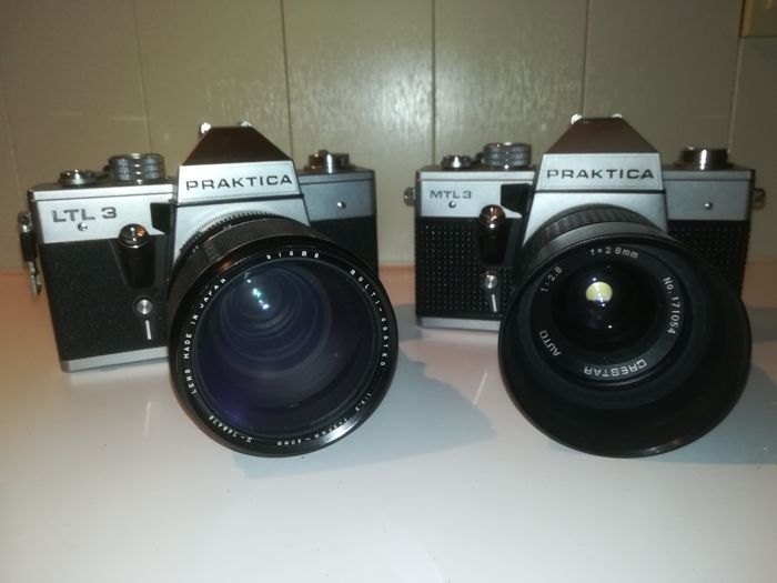 Praktica mtl with carl zeiss lens for sale online ebay