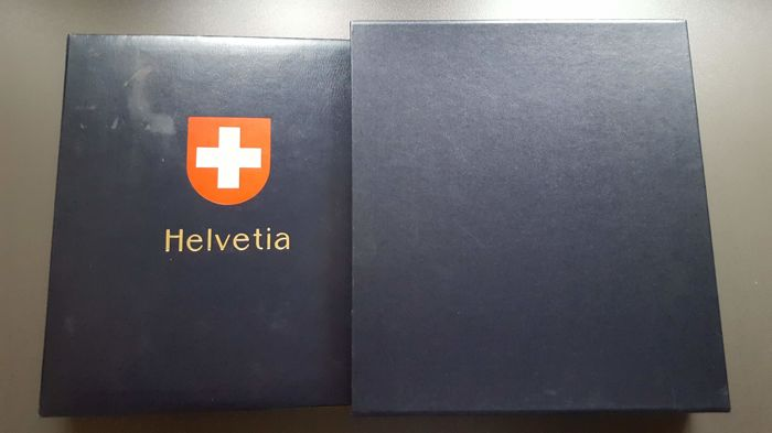 Switzerland 1862/1987 - And Canada, collection in two DAVO luxury albums