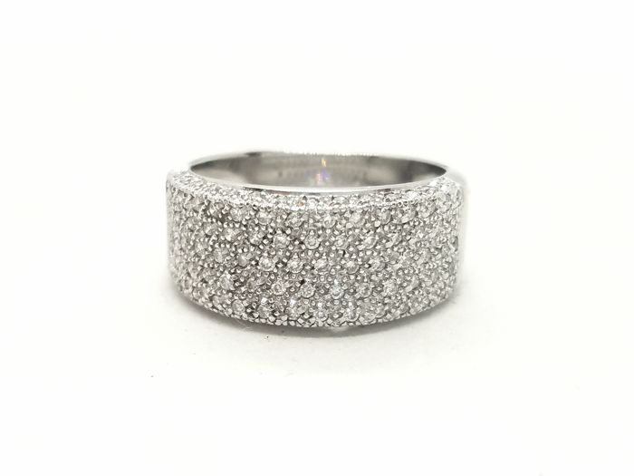 Ring - White gold - 0.5 ct - Diamond