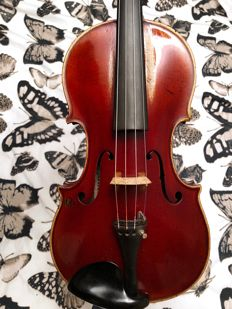 French master violin possibly by Emile Laurent