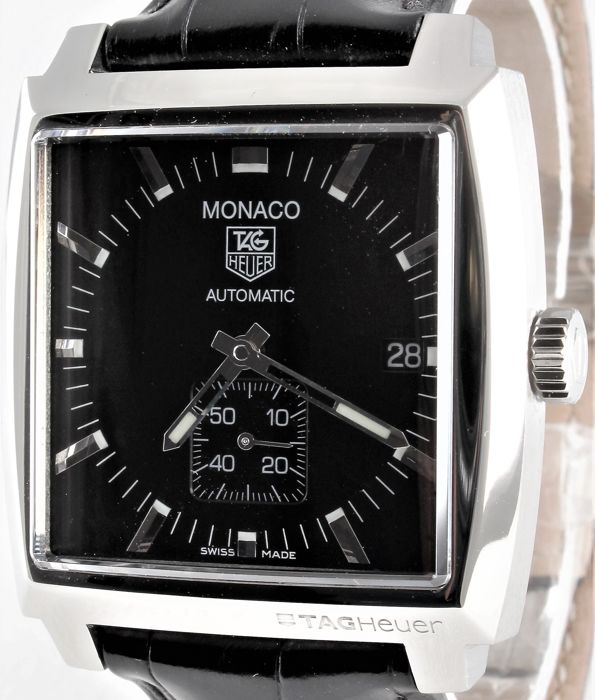 "TAG Heuer - Since 1860 - MONACO - ""NO RESERVE PRICE!!"" - Swiss Automatic - Ref. No WW2110-0 - Excellent - Warranty  - Men - 2011-present"