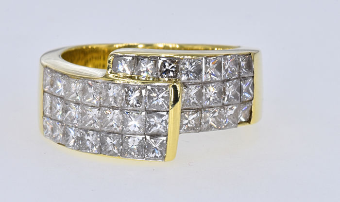 Ring - Goud - 2.68 ct - Diamant