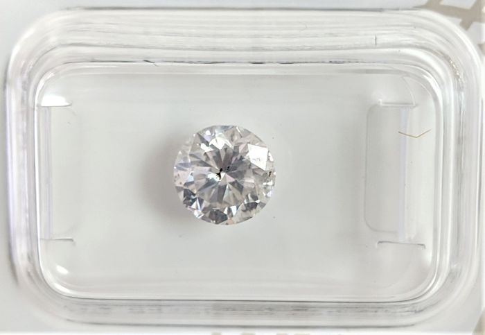 1.32 ct - Natural White Diamond - E Color - SI2 - VG/VG/VG - NO RESERVE!