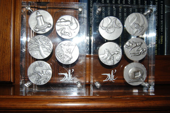 Medal - Complete collection of 10