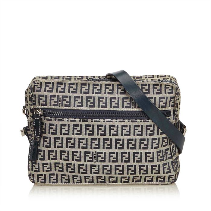 Fendi - Zucchino Jacquard Crossbody Bag - Catawiki 6f30489fbec00
