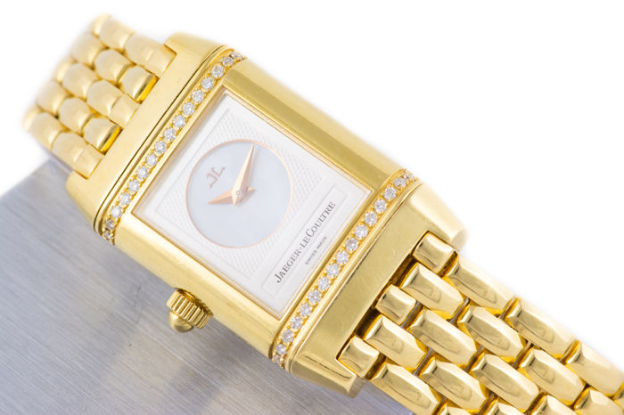 Jaeger-LeCoultre - Beautiful Reverso Duetto With Diamonds Gold - 18K - Mujer - 2000 - 2010