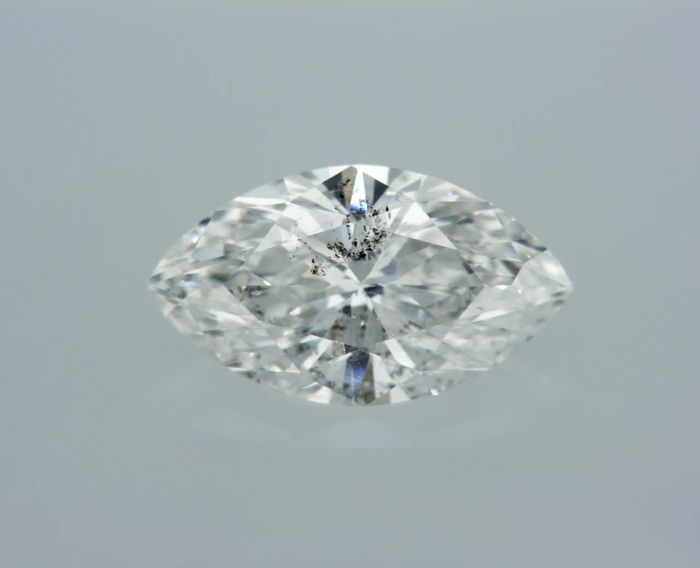 1 pcs Diamante - 0.88 ct - Marquise - G - I1