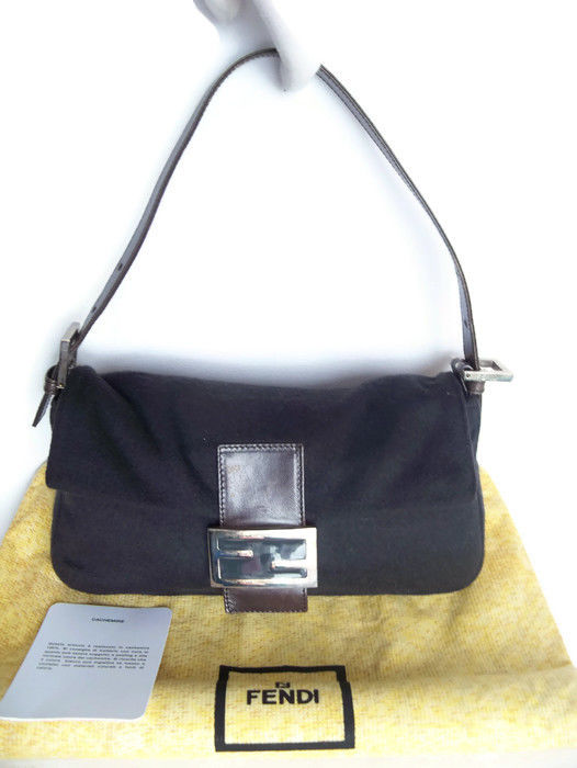 ab2fba8b2752 Fendi Cashmere Handbag Shouldersbag - No Reserve Price!  - Catawiki
