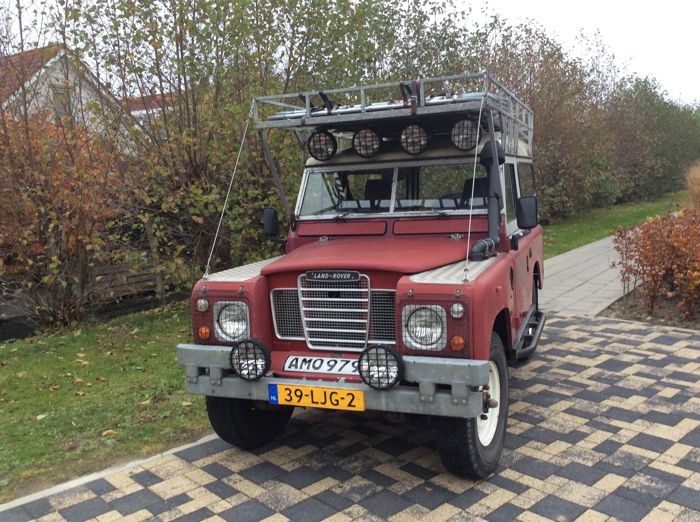 Land Rover - 88  Stagway - 1979