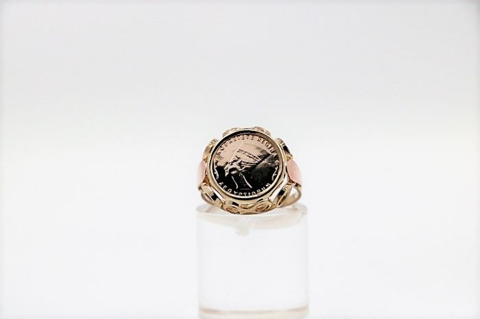 Ring - Gold, Pink gold