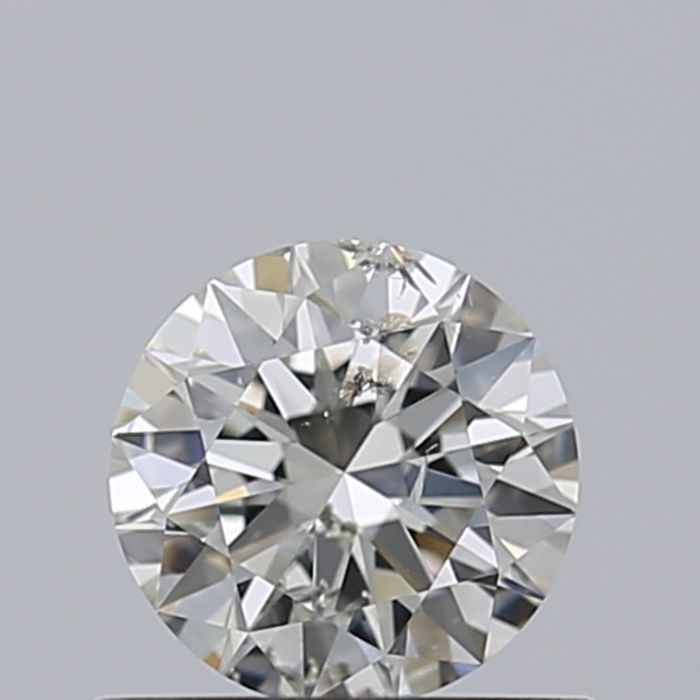 0.5ct Round Brilliant Diamond G SI2 - EGL USA - Low Reserve Price - #2960